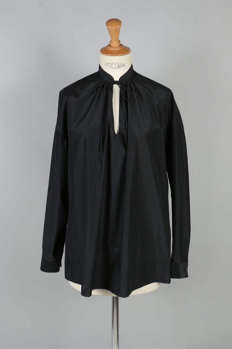 Cotton Silk Gather Blouse(1217-03054) SCYE BASICS -Women-(サイ・ベーシックス)