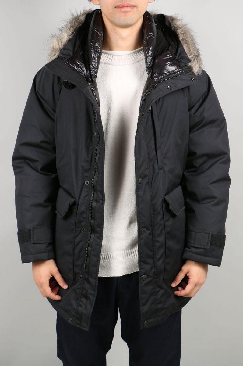 ノースフェイス パープルレーベル メンズ 65/35 Long Serow - BLACK (ND2756N) 【正規取扱店】