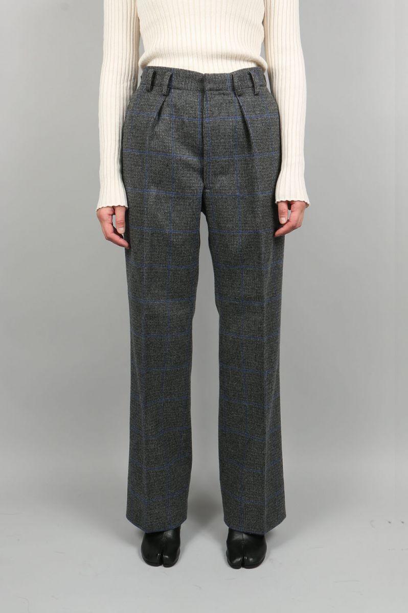 【40%OFF】Fox Tweed Pants Jun Mikami(ジュン・ミカミ)