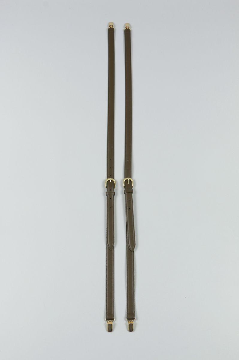 Leather Suspenders JUN MIKAMI(ジュン・ミカミ)