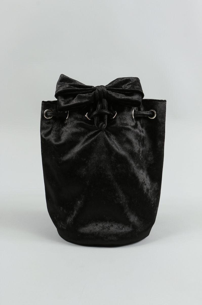 Velvet Pochette S-BLACK(LD-1702) LUDLOW(ラドロー)