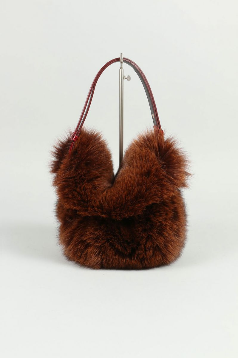 Fox Waist Bag-BROWN(LD-1714) LUDLOW(ラドロー)