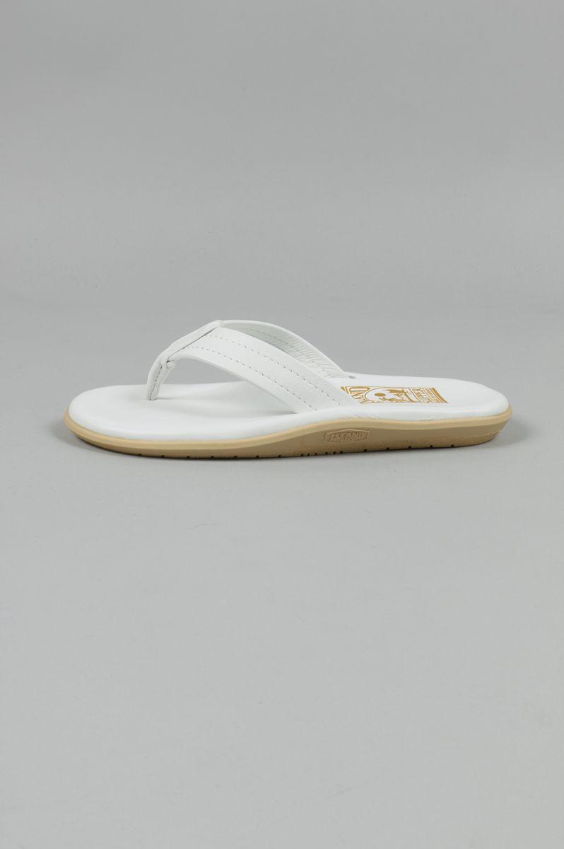 LEATHER THONG-WHITE(PT202) Island Slipper -Women-(アイランド・スリッパ)