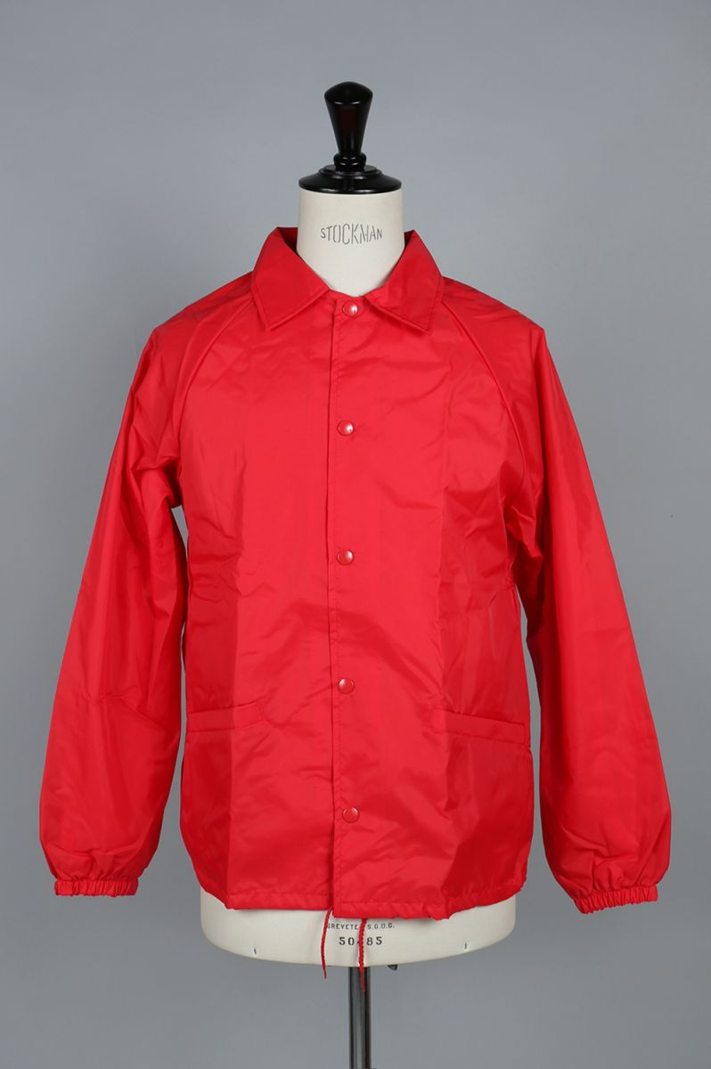【50%OFF】DEADSTOCK CARDINAL NYLON COACH JACKET MADE IN USA (700065367) IMPORT -Men-(インポート)