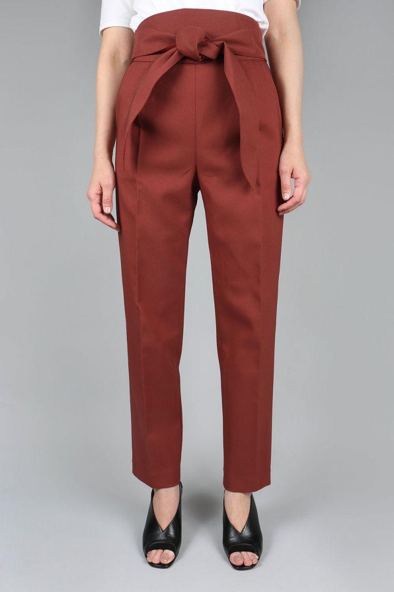 【50%OFF】2way Highwaist Pants -BURGUNDY-(11720701) Todayful(トゥデイフル)