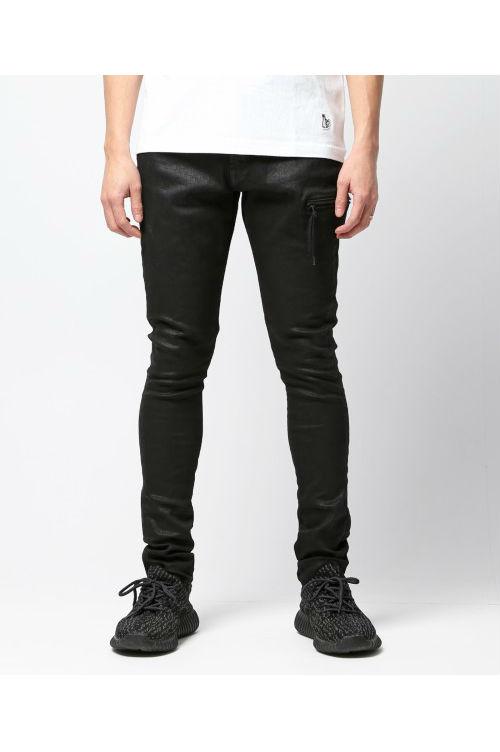 Black coating HYPE-fit denim pants (FRP012) FR2(エフ・アール・ツー)