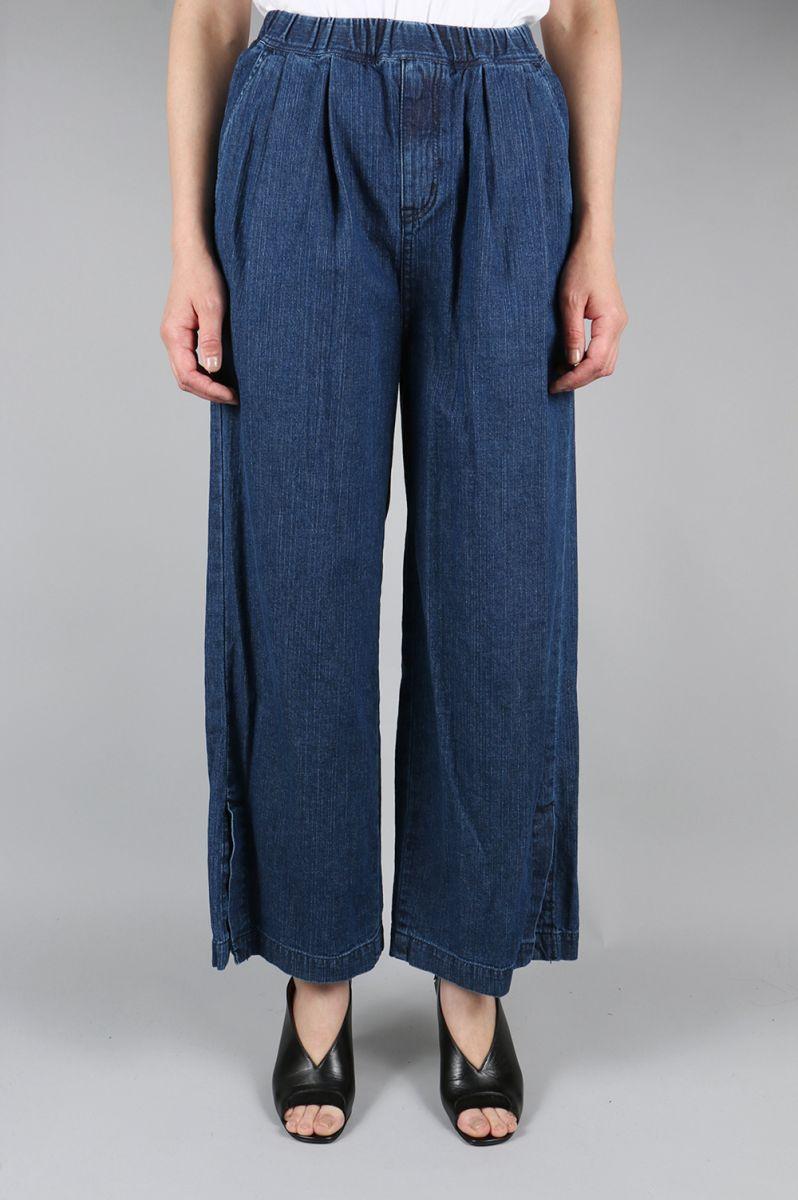 Light Denim Easy Pants (1705F04009) FLORENT(フローレント)
