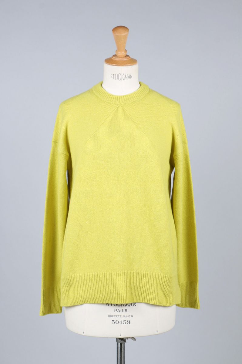 【50%OFF】Cashmere Wool Crew-neck Knit (1705F07003) Florent(フローレント)