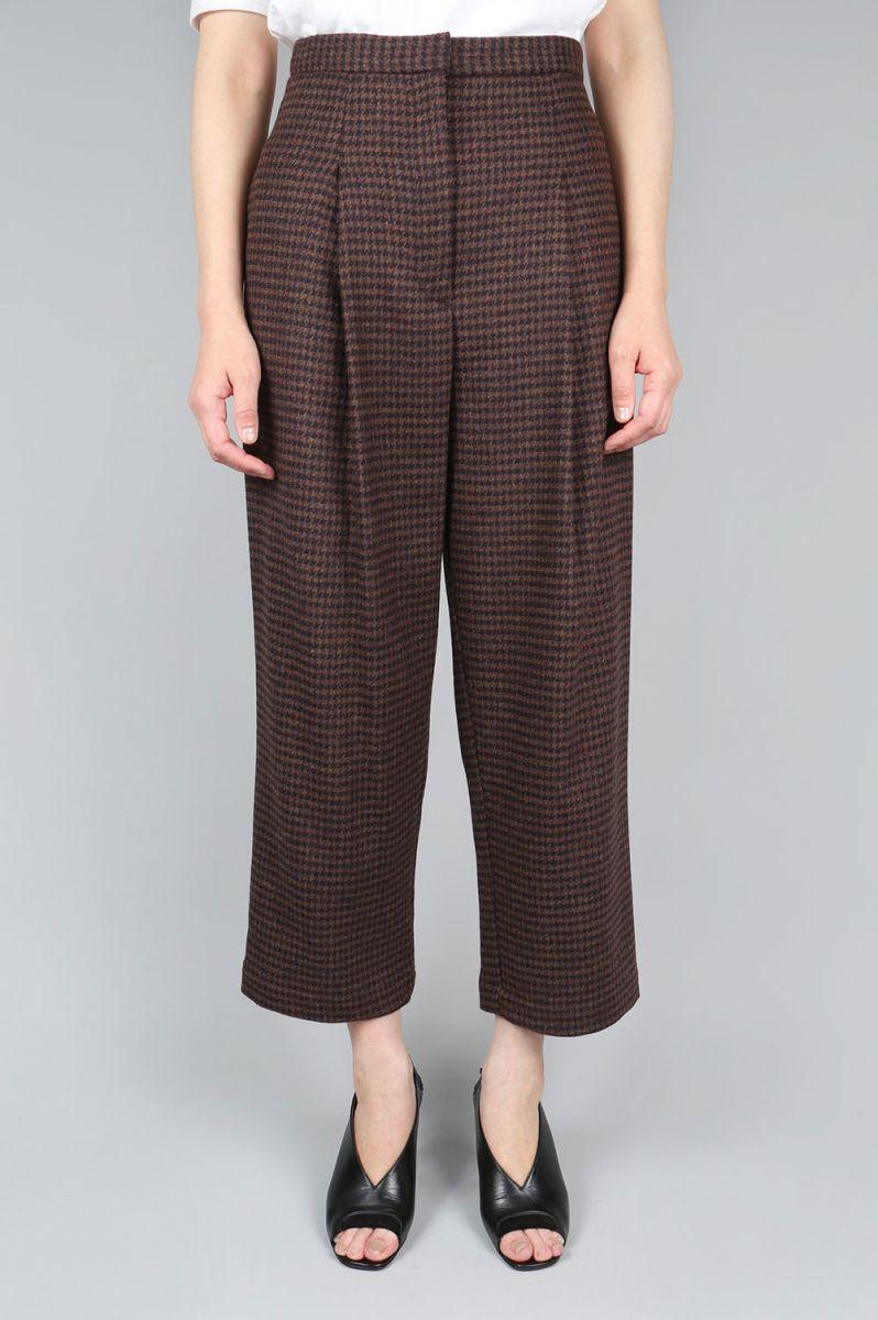 【50%OFF】Shetland Glen Check Pants (1705F04019) Florent(フローレント)