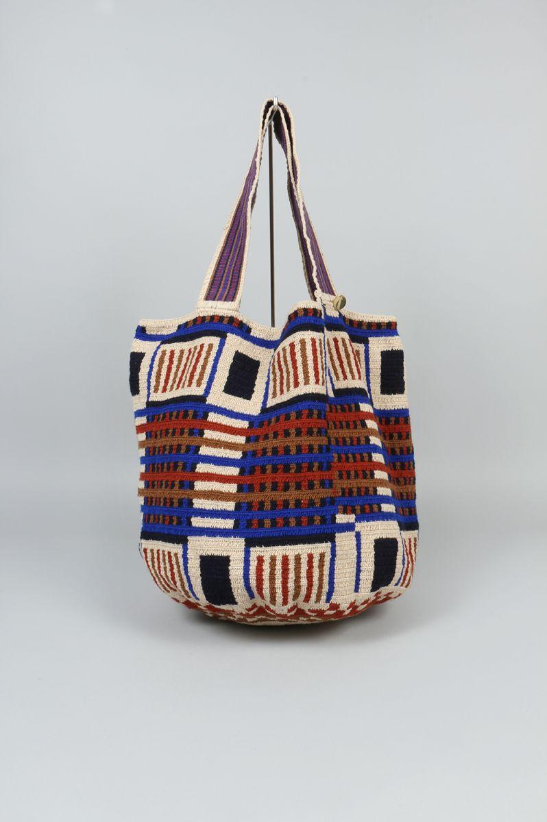 Beach Wayuu Bag 2 G12w 0005 1026 Camaguey Guanabana Handmade グアナバナ