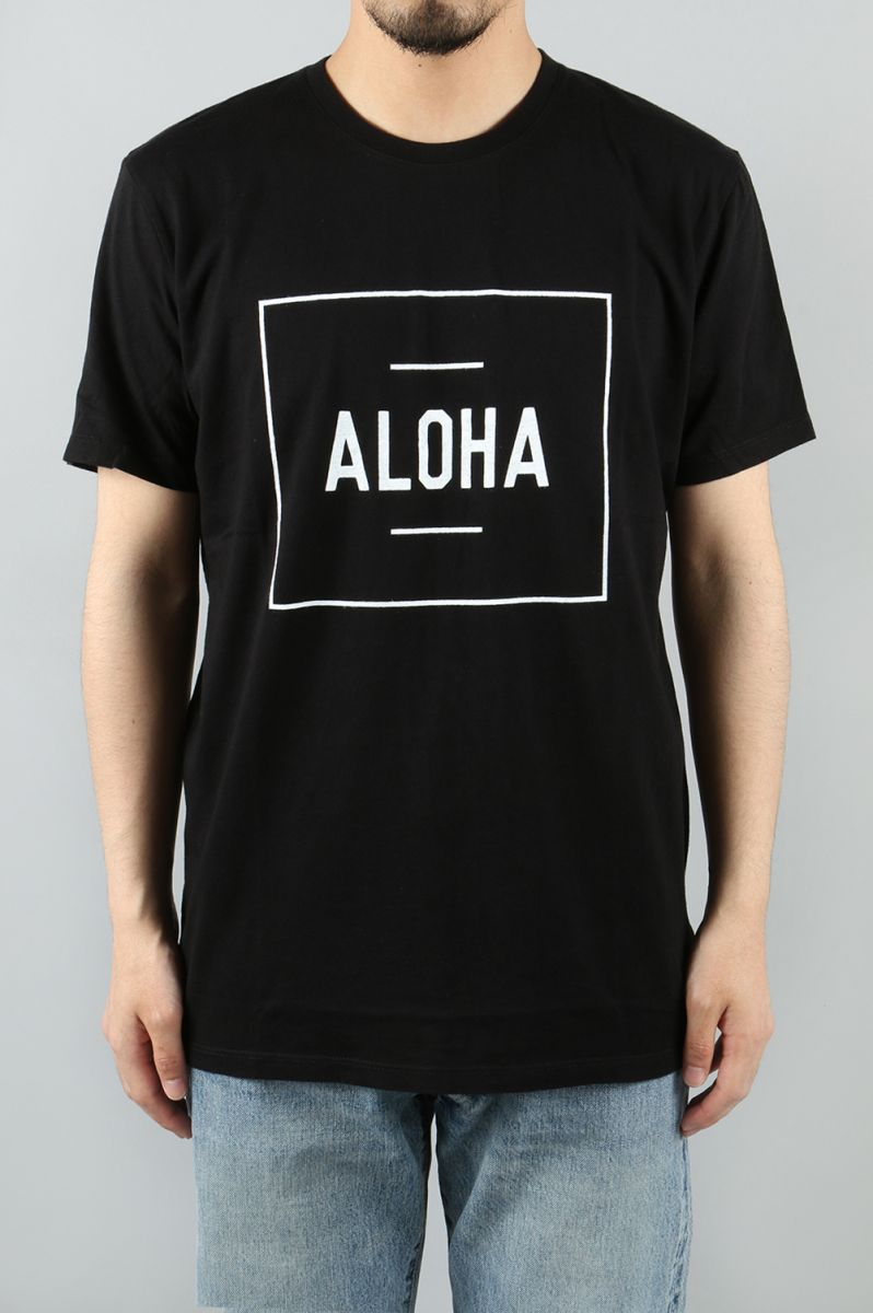 BOXER TEE - BLACK (TS0001) Aloha Beach Club(アロハ・ビーチ・クラブ)