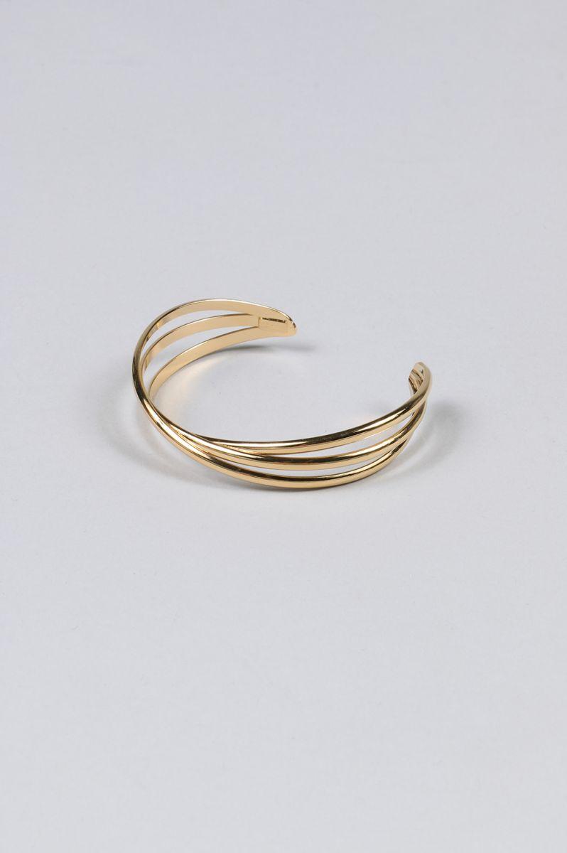 Craig bracelet 3-brass gold color-(BR2135:OR) Philippe Audibert(フィリップ・オーディベール)