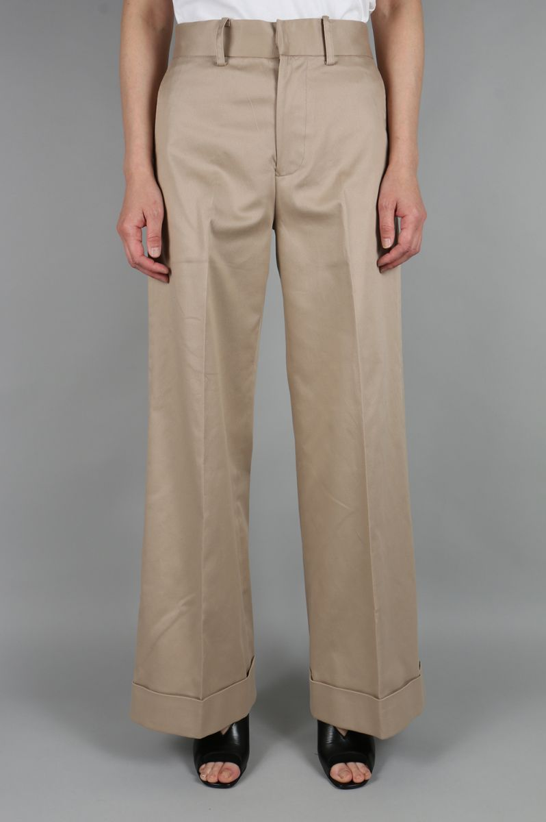 【Limited】Chino Trousers (08R-FABOT-15C-CHO) BLUEBIRD BOULEVARD(ブルーバード・ブルバード)