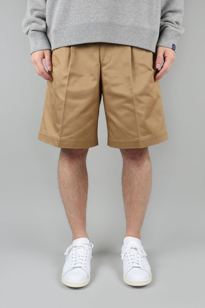 2pleated Chino Shorts (5118-81503) SCYE BASICS -Men-(サイ・ベーシックス)