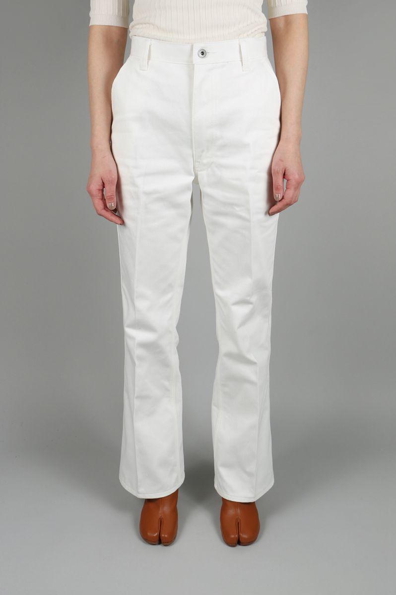 【40%OFF】Denim Pants -WHITE Jun Mikami(ジュン・ミカミ)