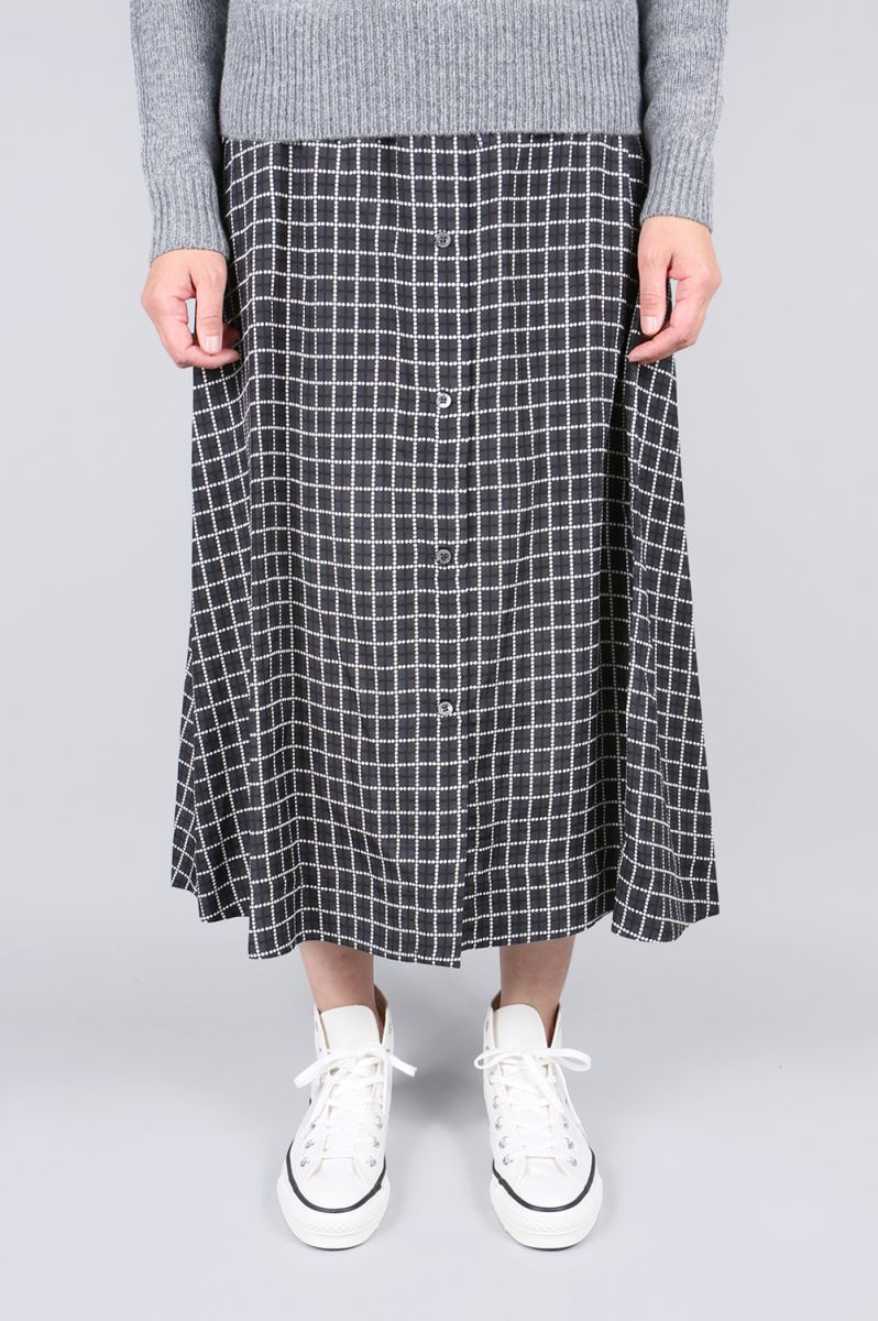 【40%OFF】ALL-OVER DOTS PAIGE LONG SKIRT (KWC856) Maison Kitsune -Women-(メゾン・キツネ)
