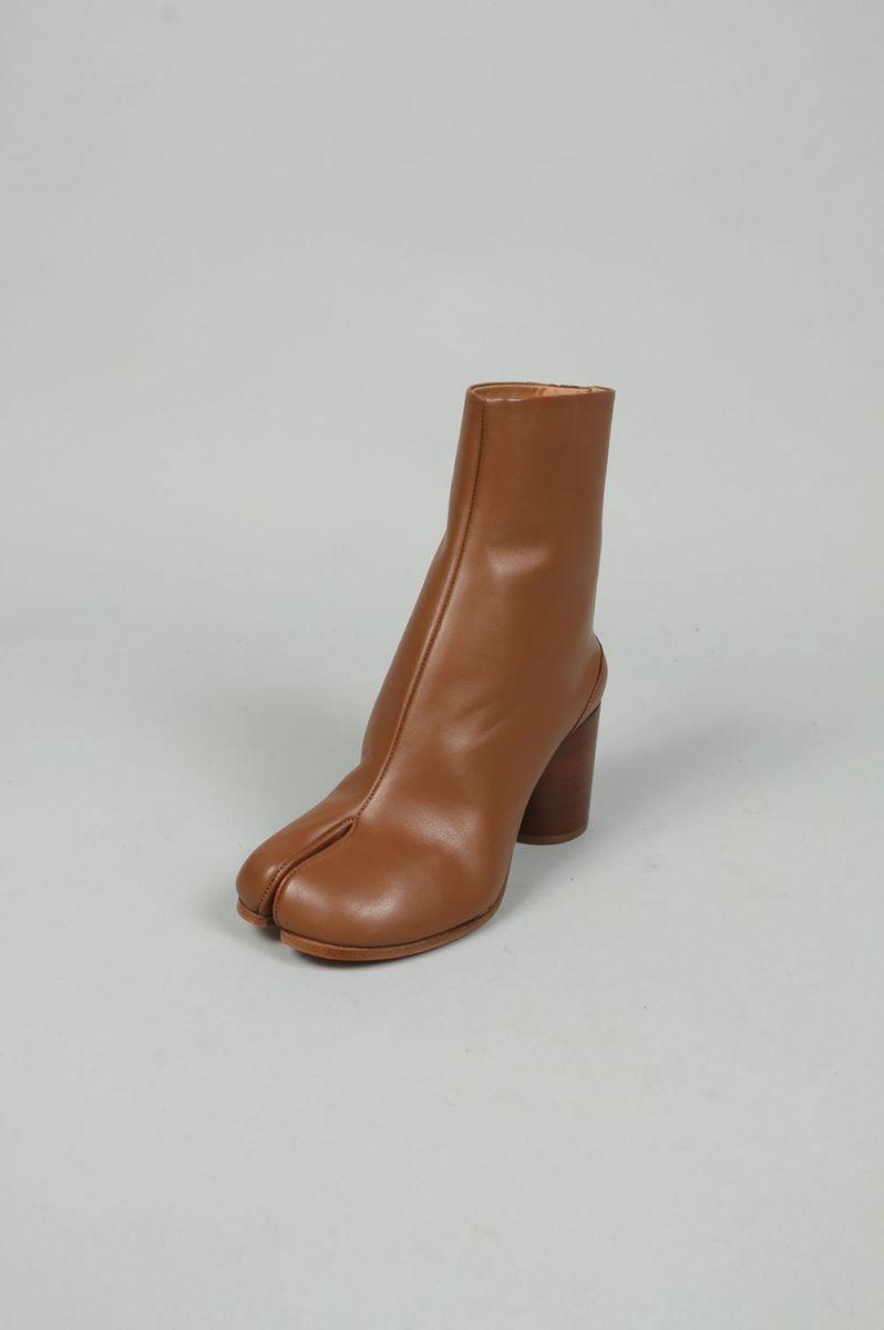 90fe372cc37d Tabi Ankle boots -Tobacco Brown- (S58WU0241) Maison Margiela -Women- (maison  マルジェラ)