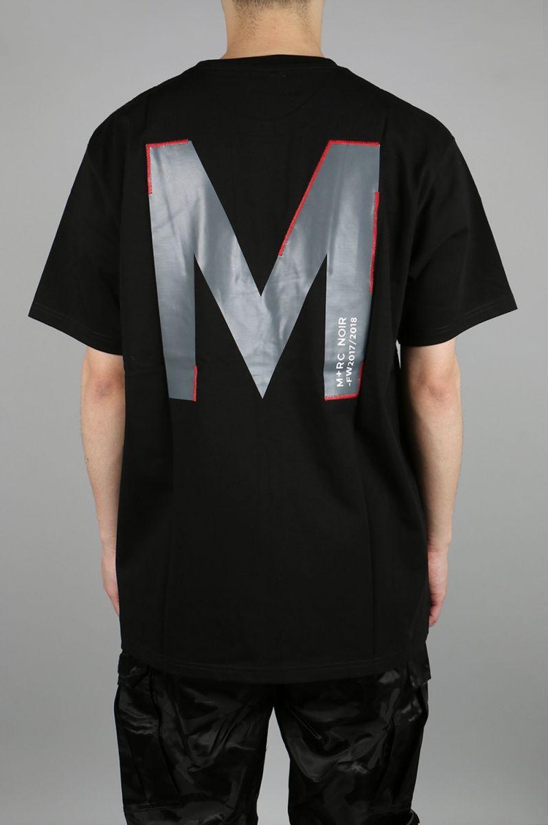 BIG M T-SHIRT - BLACK M+RC Noir(マルシェ・ノア)
