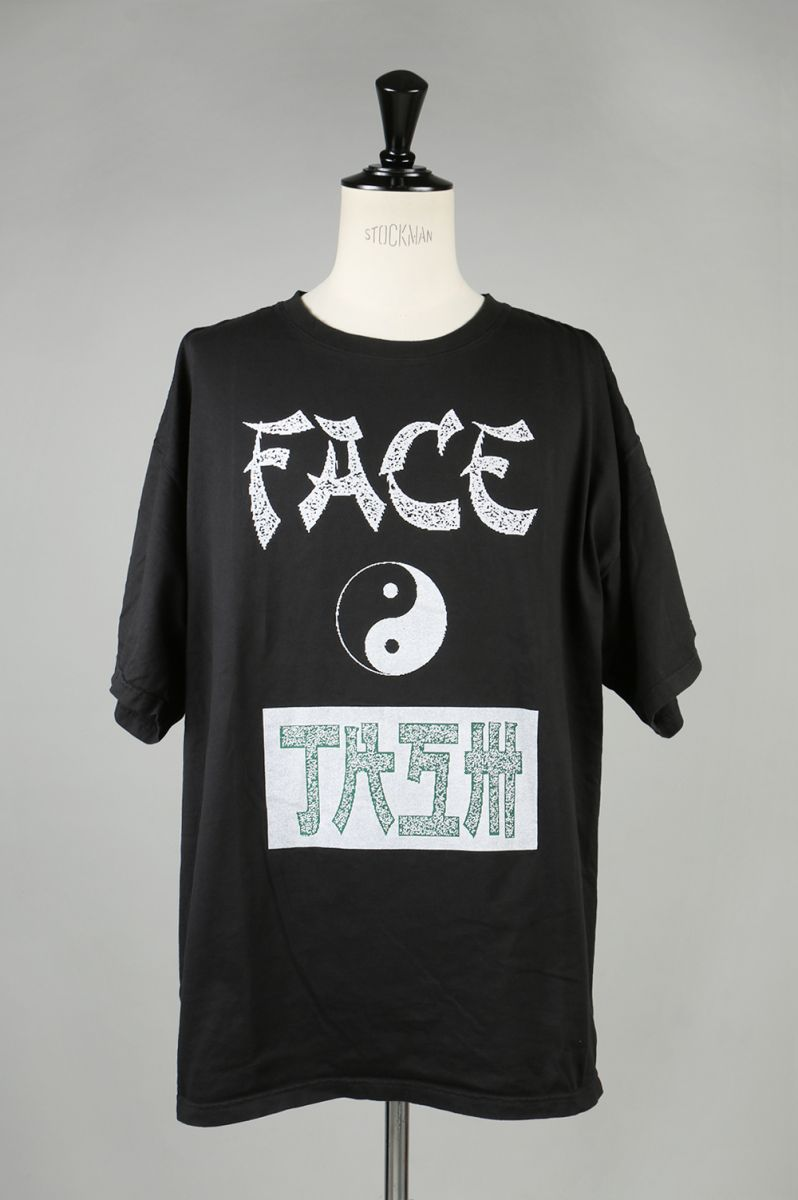 FACETASM BIG TEE -BLACK- (MRC-TEE-U06) Facetasm -Men-(ファセッタズム)