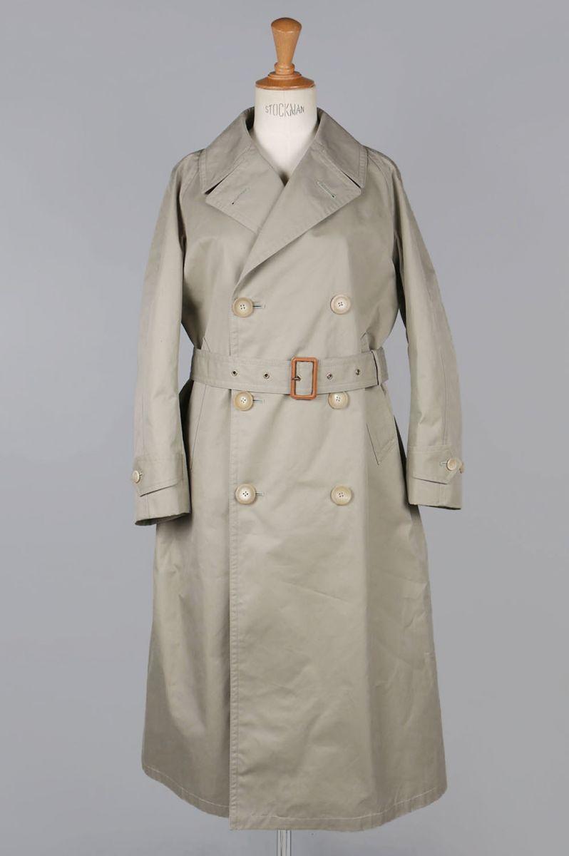 【40%OFF】GABA material Trench Mac Coat (5218-73547) Scye Basics -Women-(サイ・ベーシックス)