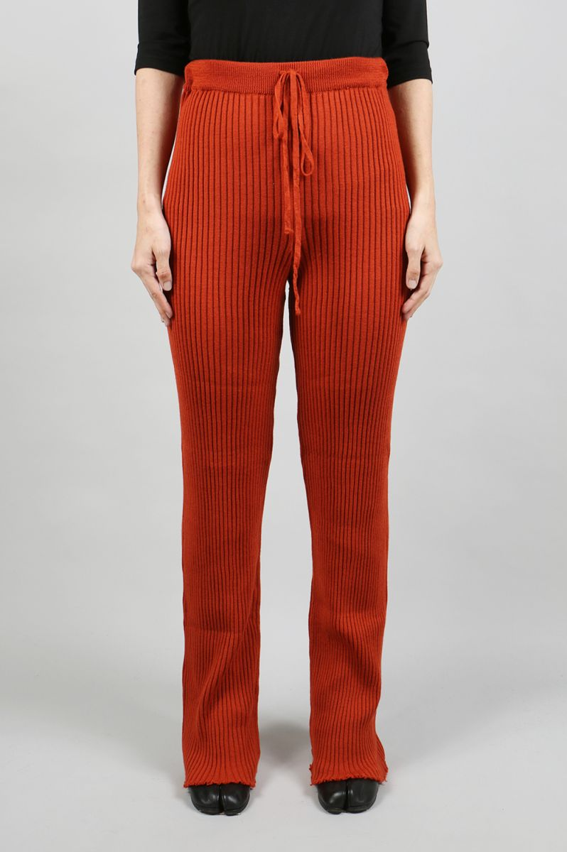 【40%OFF】KNIT TROUSERS -Red (AW18KN0017LWK) Marques' Almeida(マルケス・アルメイダ)