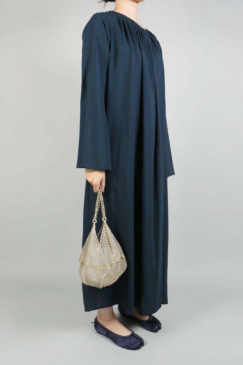 Metal Knitted Shoulder Bag - Beige Gold × Gold Jun Mikami(ジュン・ミカミ)