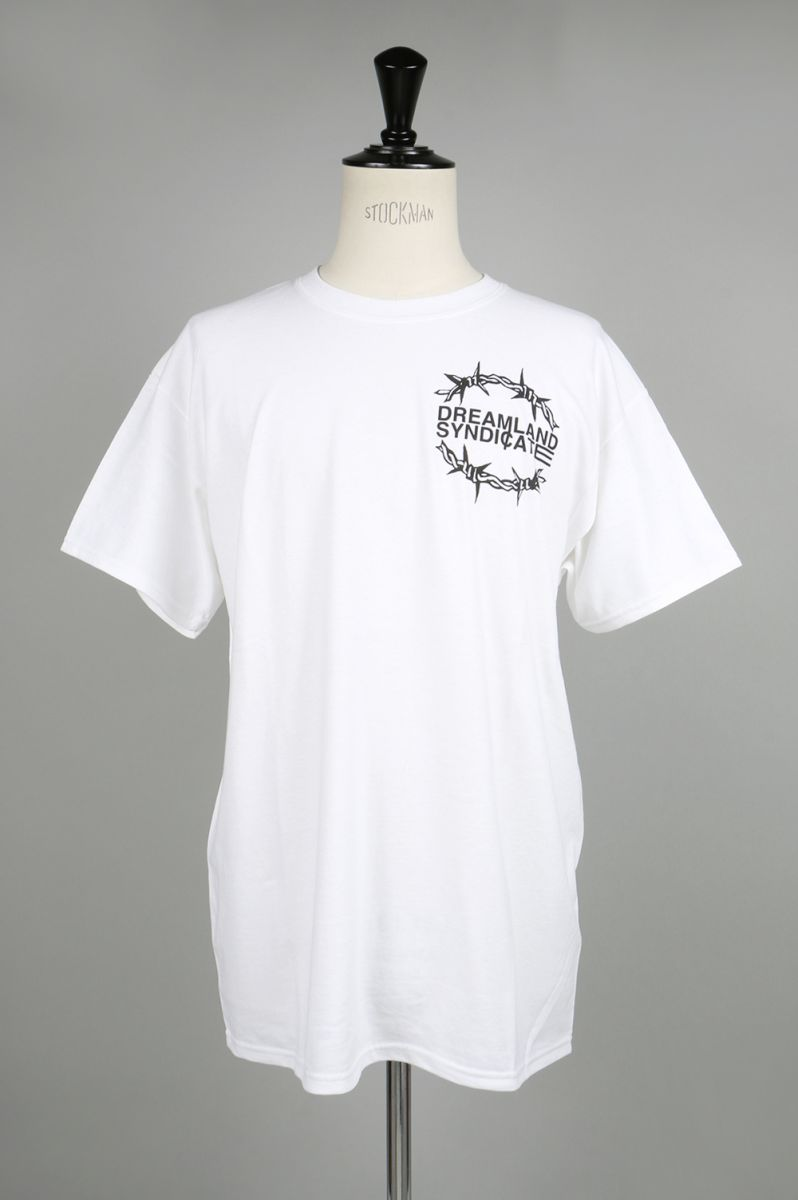 【30%OFF】Dreamzone T-Shirt / White Dreamland Syndicate(ドリームランド・シンジケート)