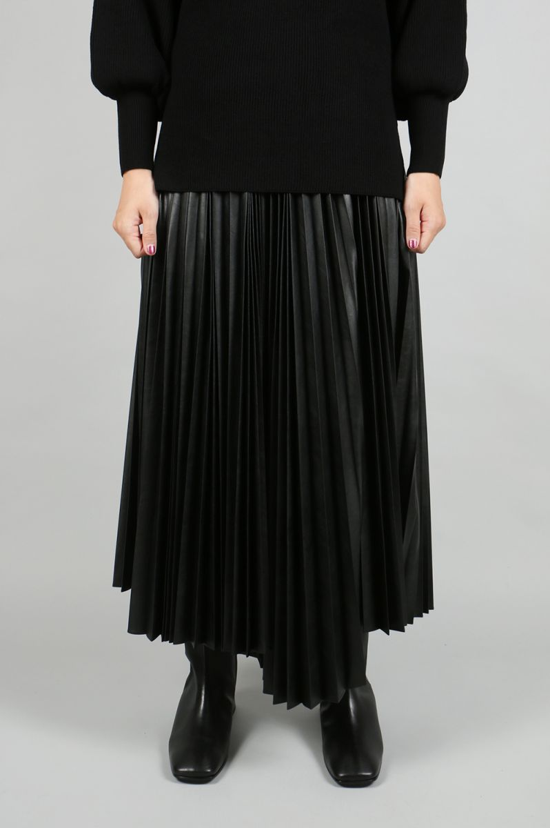 【40%OFF】Light Leather Wash Out Skirt(1805F03006) Florent(フローレント)