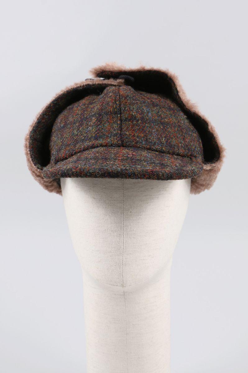 HARRIS TWEED FIELD PILE CAP (301-182031) Fill The Bill -Women-(フィル・ザ・ビル)
