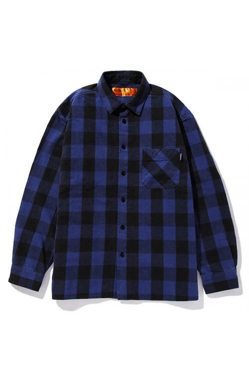 WASHED BUFFALO CHECK SHIRT (CLG-SH-018-011) Challenger(チャレンジャー)