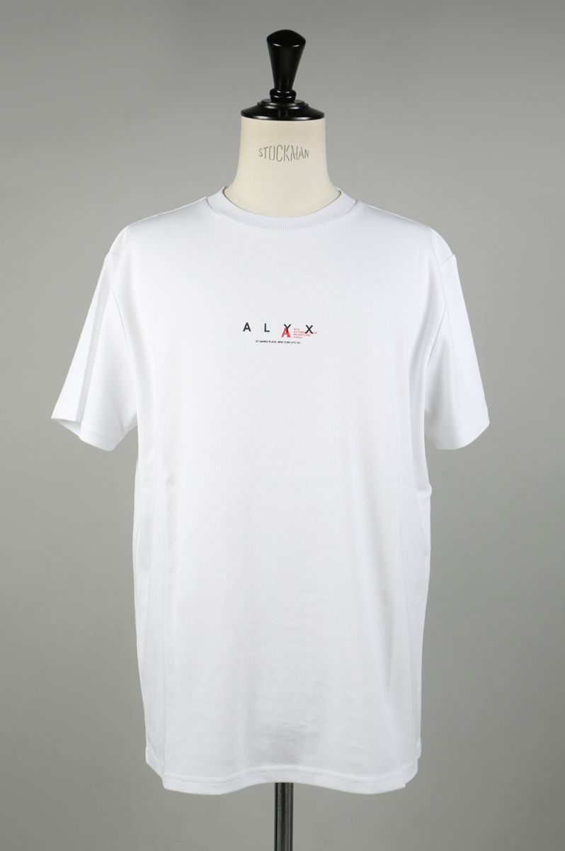 ALYX LOGO TEE/WHITE(AVMTS0009) Alyx(アリクス)