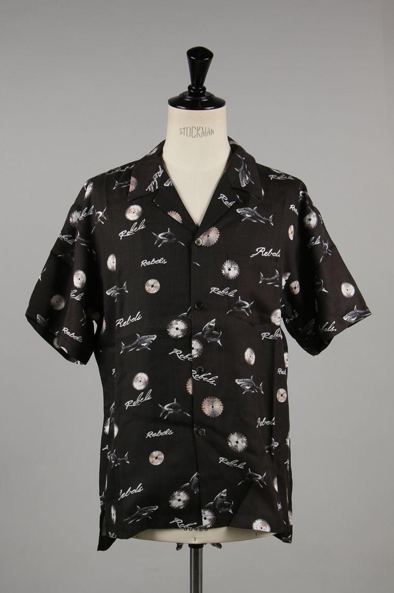pretty nice ed44f b5d56 Bowling Shirt / East LA -BLACK EAST LA (2920700040) John Elliott (John  Elliot)