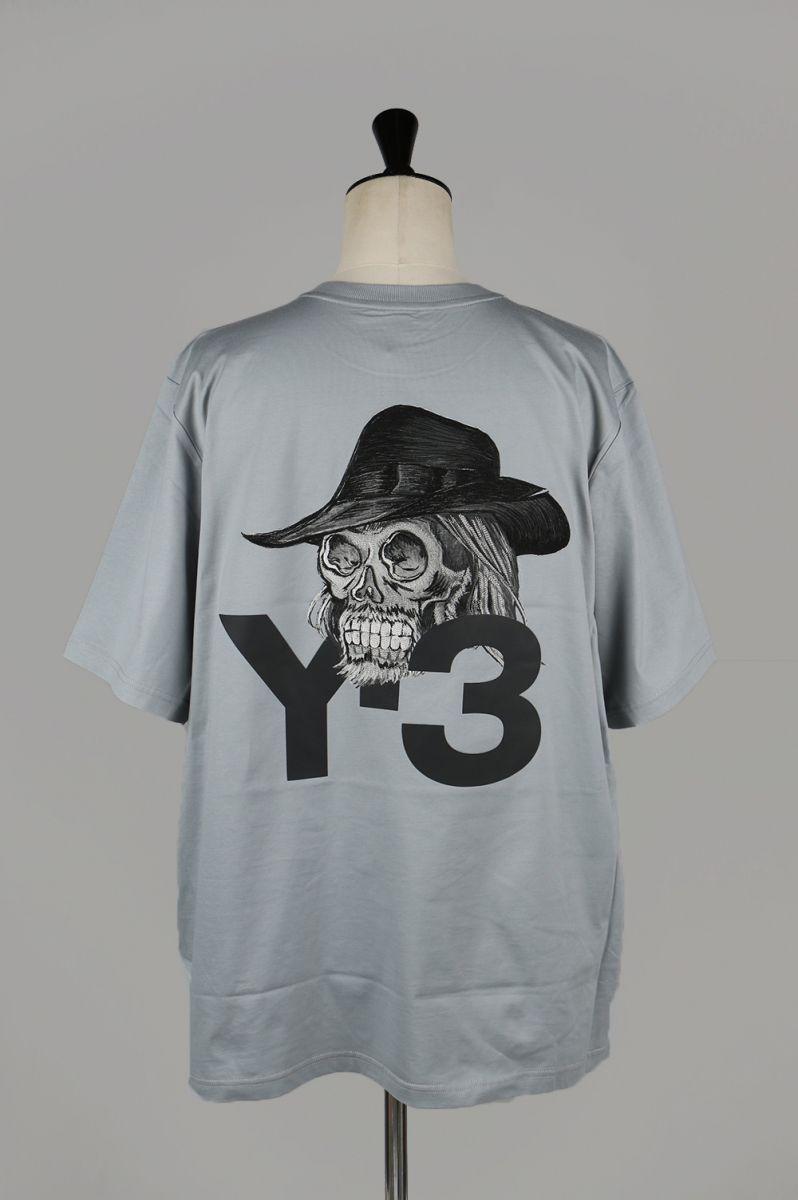e6f25c535 Store: M YOHJI SKULL SS TEE / GRY (EH5757-APPS19) Y-3 -Men- (Y three) |  Rakuten Global Market