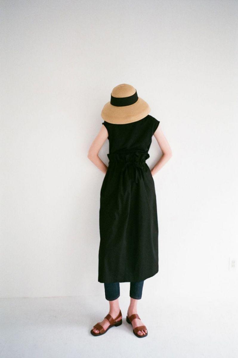 【40%OFF】Military Shirring Long Skirt(16109-6111) Clane(クラネ)