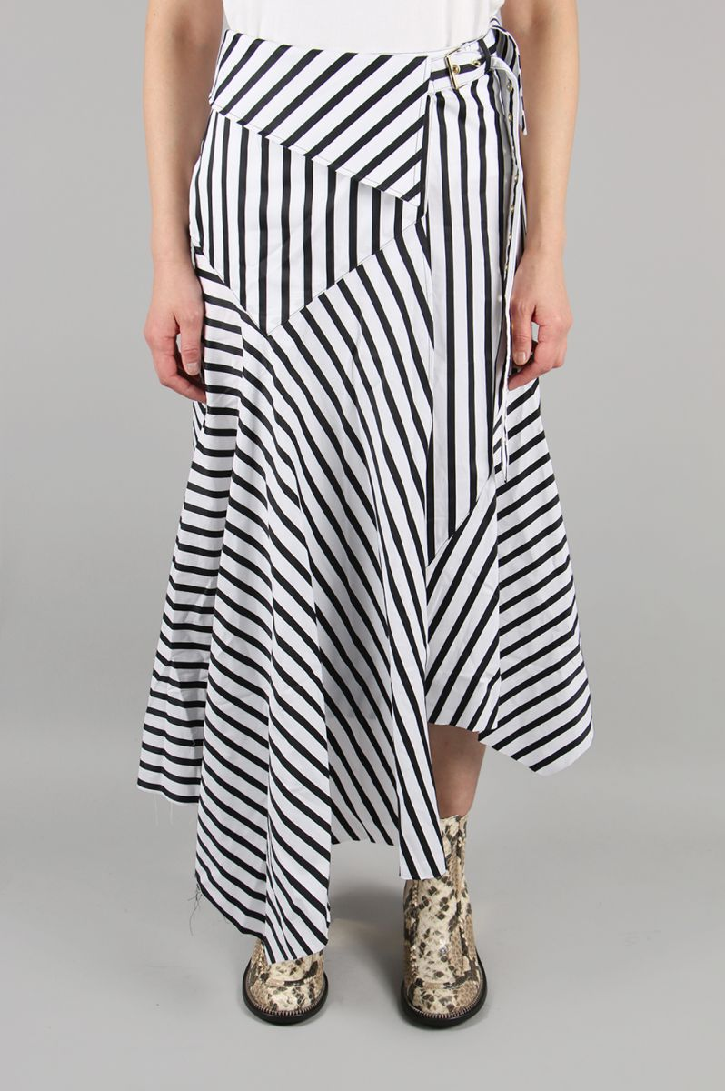 【50%OFF】Long Wrap Skirt (SS19SK0086SHS) Marques' Almeida(マルケス・アルメイダ)