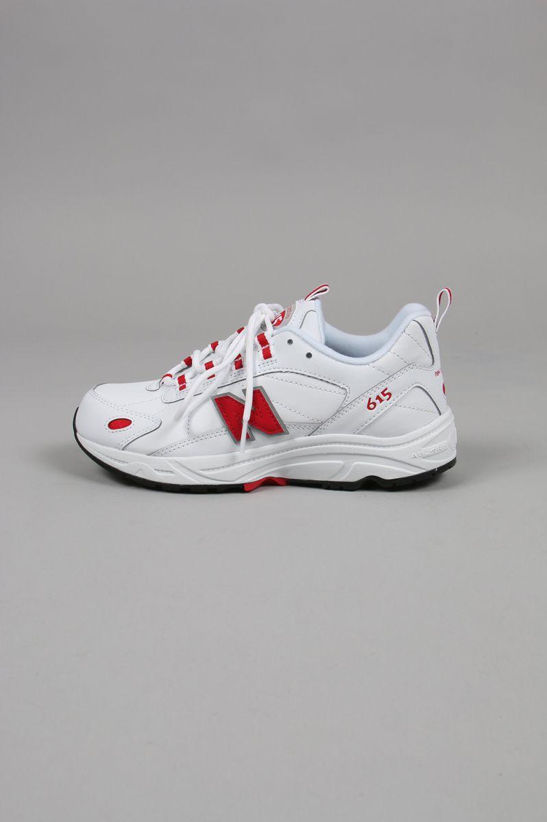 ML615-WHITE/RED(ML615NWR) New Balance -Women-(ニュー・バランス)
