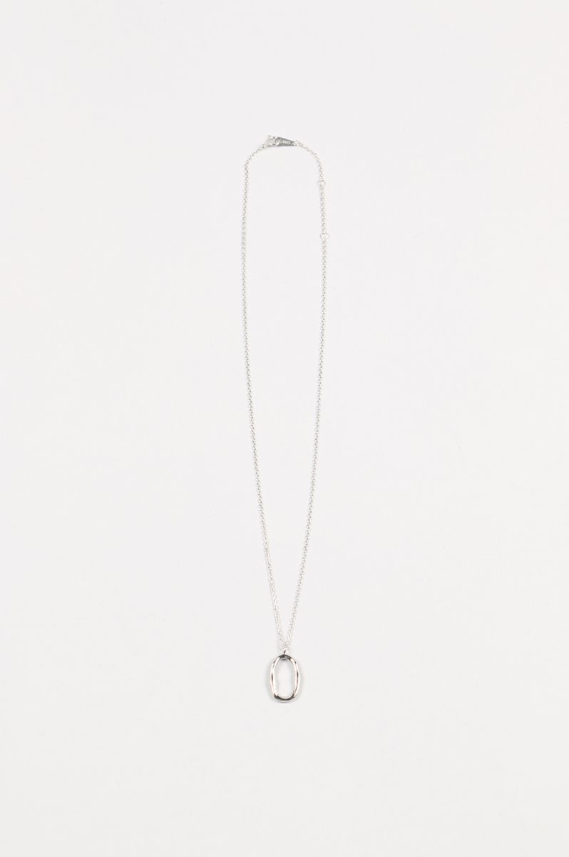 Oval Ring Necklace (Silver925) -SILVER(11910942) Todayful(トゥデイフル)