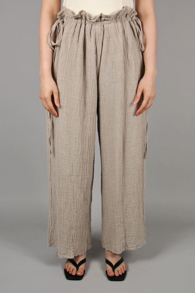 【40%OFF】トゥデイフル レディース Waistgather Linen Pants-NATURAL ナチュラル【正規取扱店】