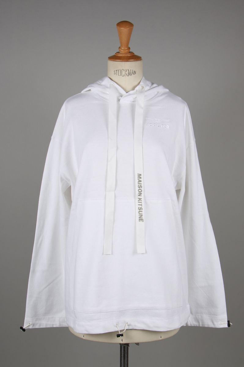 ELASTICATED-WHITE (DU00303KJ0027 / KMM09640) Maison Kitsune -Women-(メゾン・キツネ)