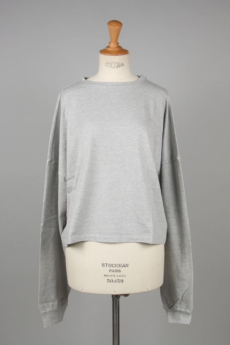 TOMBOY SWEAT SHIRT -Gray (TNH17200-03) The Newhouse(ザ・ニューハウス)