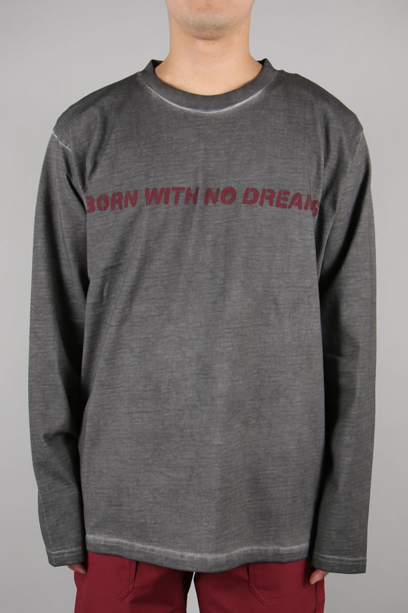 【30%OFF】BWND LS GREY TEE M+RC Noir(マルシェ・ノア)