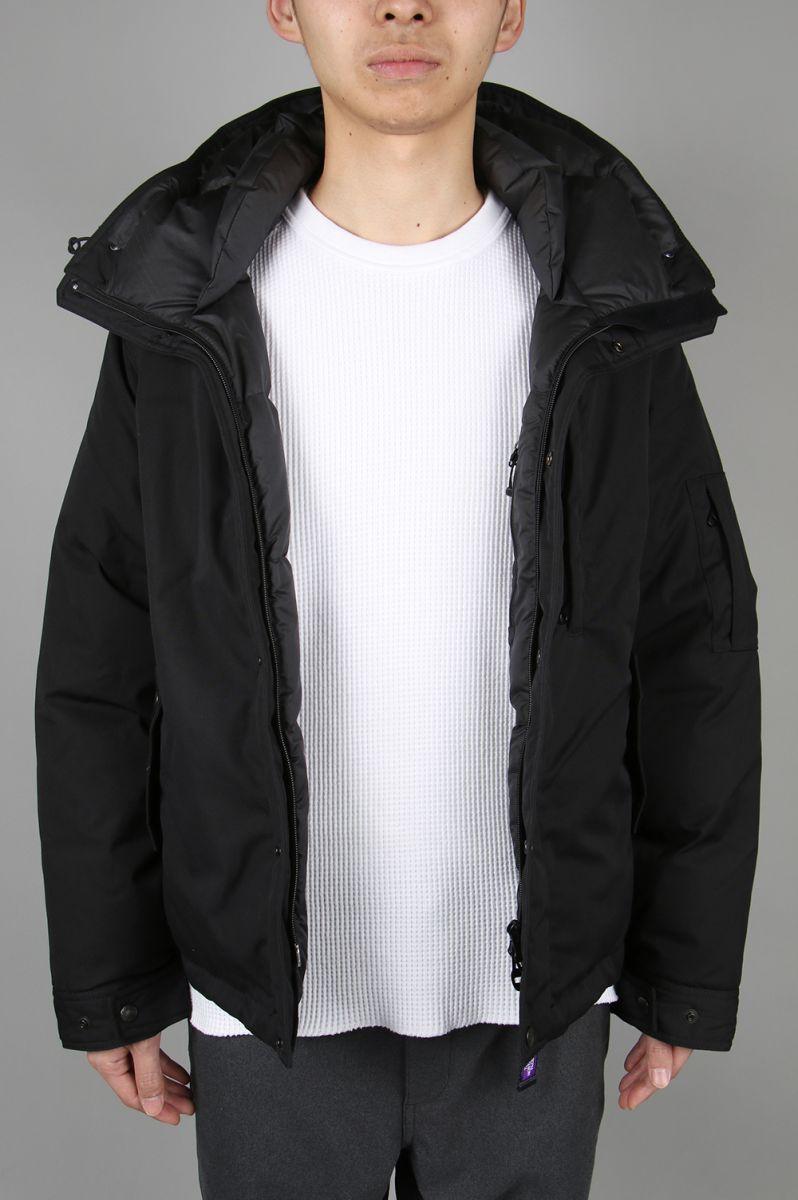 ノースフェイス パープルレーベル メンズ 65/35 Mountain Short Down Parka - BLACK (ND2966N) 【正規取扱店】