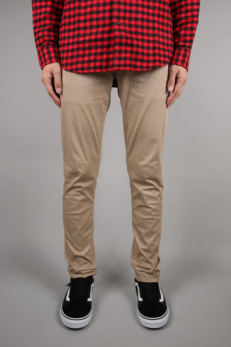 【30%OFF】Power Stretch Skinny Chino Pants -BEIGE(VJP2223) Vanquish(ヴァンキッシュ)