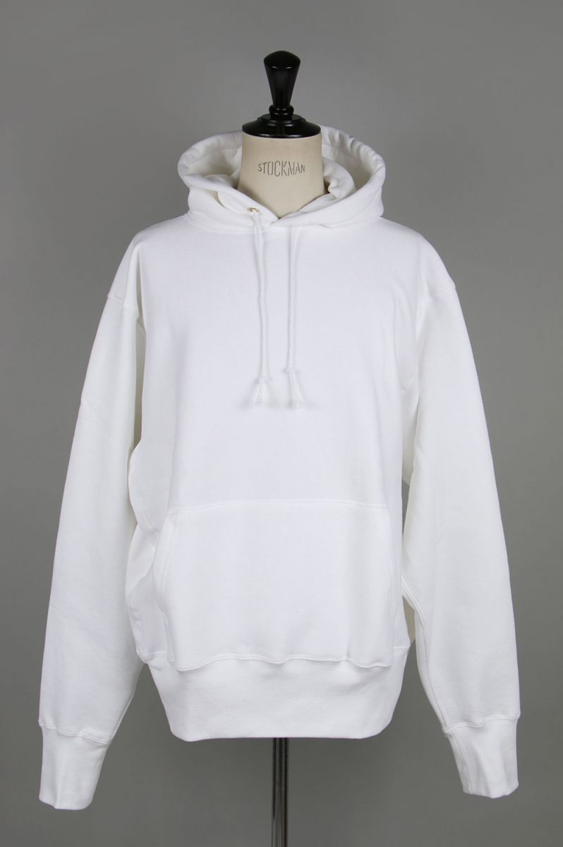 キャンバー #232 CROSS-KNIT PULLOVER HOODED - WHITE (700059376) 【正規取扱店】