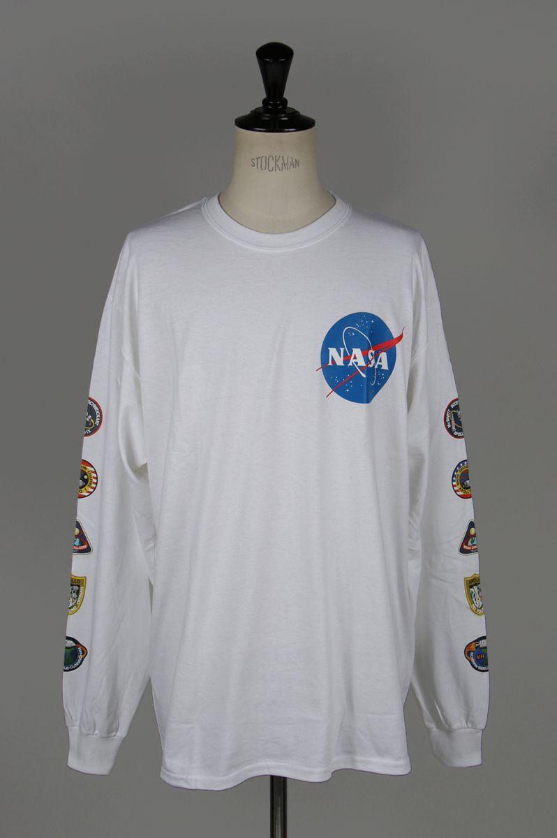 NASA x LEGENDA L/S Tee -WHITE(LEC781) Legenda(レジェンダ)