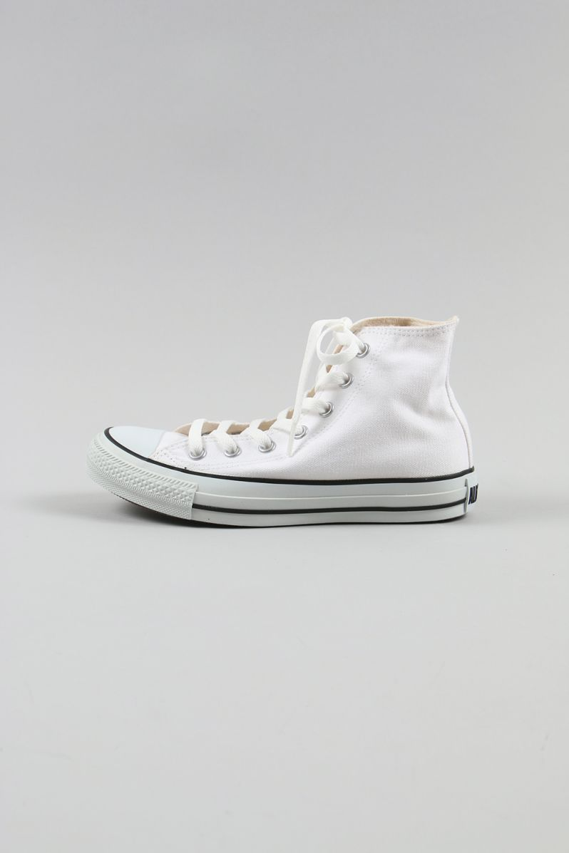 CANVAS ALL STAR COLORS HI -WHITE×BLACK(32664380) Converse -Women-(コンバース)