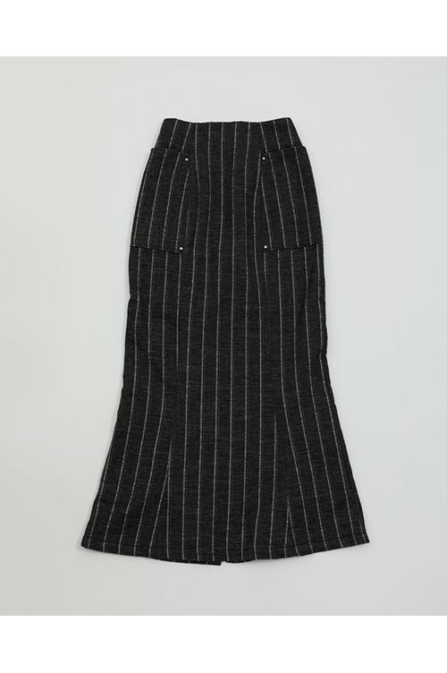 Jacquard Stripe Skirts-NAVY(11920812) Todayful(トゥデイフル)