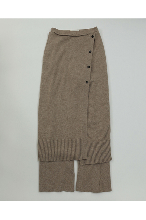 Wraparound Knit Skirt-BEIGE(11920808) Todayful(トゥデイフル)