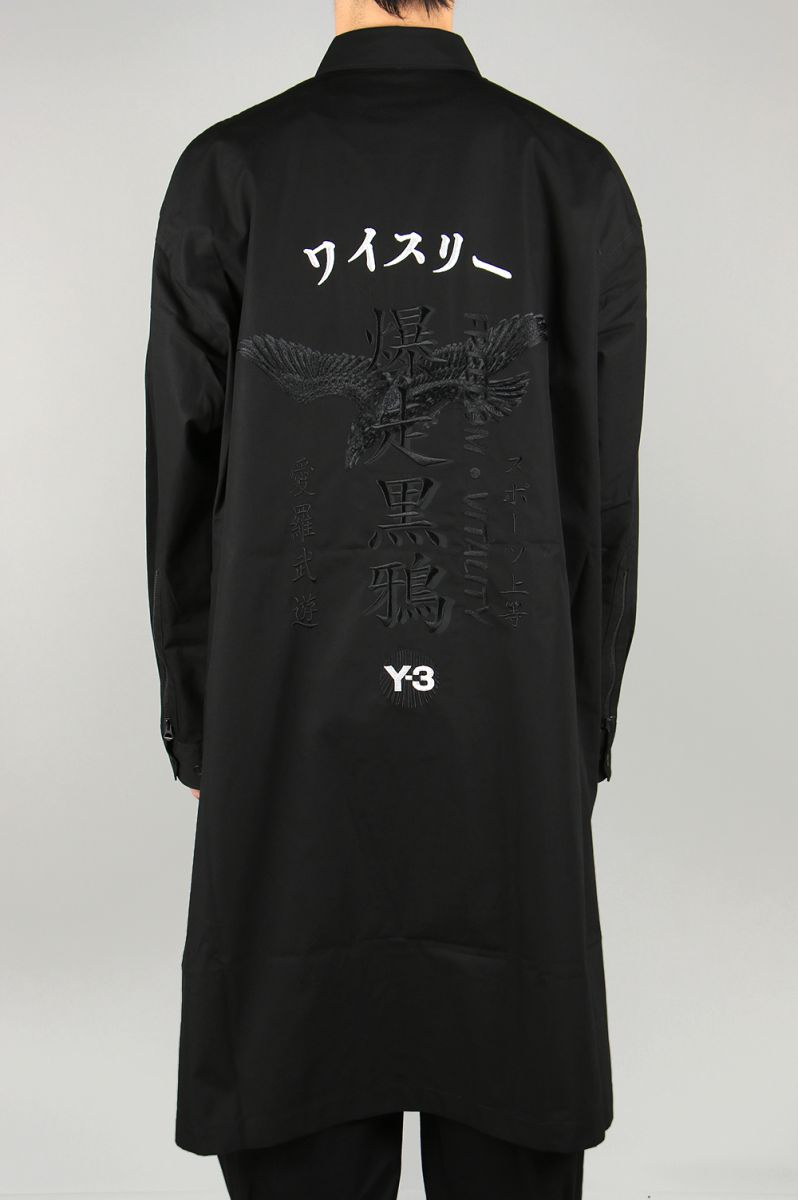 Y-3 CRAFT LONG SHIRT(FS3458-APPS20) Y-3 -Men-(ワイ・スリー)