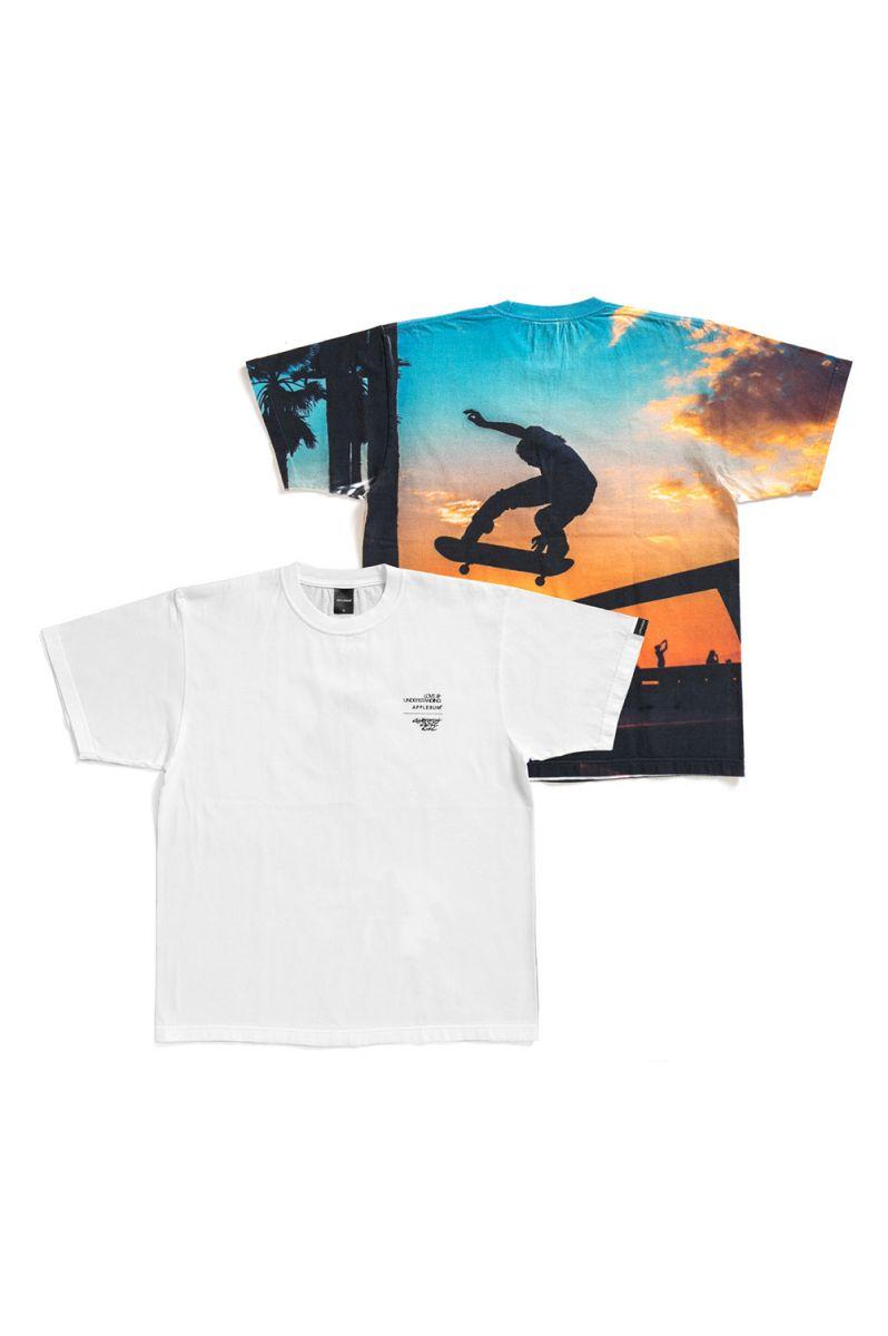 Sunset Skatepark T-shirt(CCW1911106) Applebum(アップルバム)